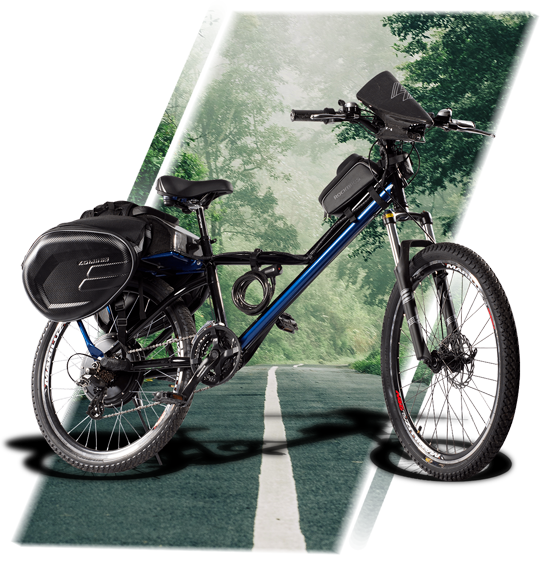 Bicicleta eléctrica E-Raptor 2020
