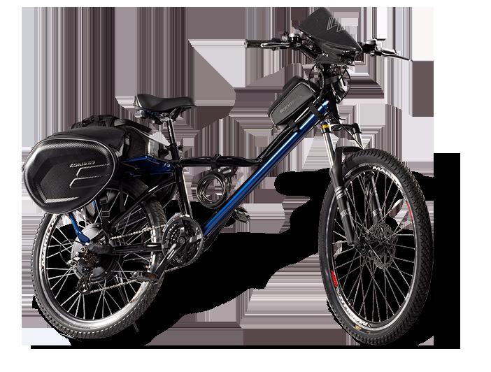 Bicicleta eléctrica E-Raptor industria